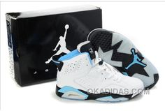 http://www.okadidas.com/air-jordan-6-white-blue-black-super-deals.html AIR JORDAN 6 WHITE BLUE BLACK SUPER DEALS Only $73.00 , Free Shipping!