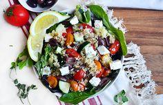 Bulghur Greek Salad Recipe