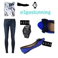 Look #2gostunning #findeaño #azul #haztupedido