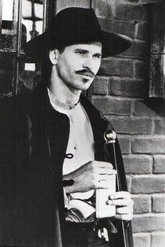 Val Kilmer as Doc Holiday in Tombstone.