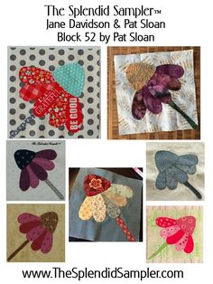 52 Splendid Sampler Pat Sloan block multi