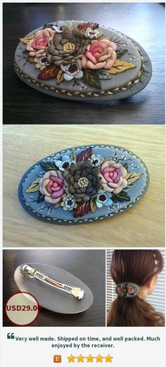 #Leather #Barrette Lovely #clip #hair Hair #roses Hair #accessories Hair #jewelry #Flower leather accessories #Accessory for the #head #Pink and #gray  #Leatherbarrette #Lovely #cliphair #cliproses #Hairroses #Hairaccessories #Hairjewelry #jewelryflower #leatheraccessories #flowerleather Accessory for the #headpink and gray  https://www.etsy.com/HFJewelleryShop/listing/462046096/leather-barrette-lovely-clip-hair-hair?ref=shop_home_active_3