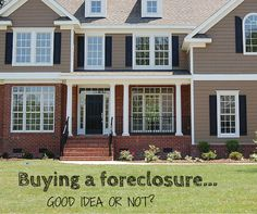 Is it a good idea to buy a foreclosed property?  If you are in the market to buy a home or an investment property, check out this article with a list of pros and cons. http://frametofreedom.com/buying-a-foreclosure-good-idea-or-not/