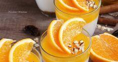 Nastoletnie Wypiekanie: FIT serniczki na zimno z żelką pomarańczową