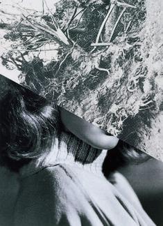 wrzosowisko: John Stezaker, Film Portrait (Disaster) I, 2004 John Stezaker, Modern Portraits, Saatchi Gallery, Photocollage, Film Inspiration, Film Photography, White Photography, Film Stills, Photo Manipulation