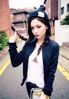 Korean street fashion.