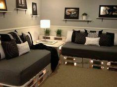 Pallets sofà