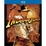 Indiana Jones: The Complete Adventures (Raiders of the Lost Ark / Temple of Doom / Last Crusade / Kingdom of the Crystal Skull) [Blu-ray] (Blu-ray)By Harrison Ford
