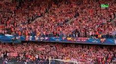 Aficion del Atletico de Madrid