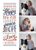 Elated New Year's Photo Cards by Sarah Brown | Minted