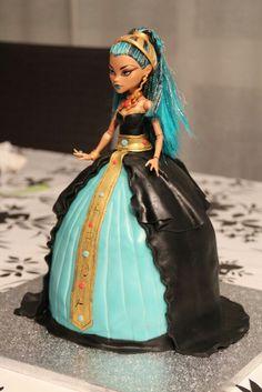 MH cake doll. Cleo de Nile