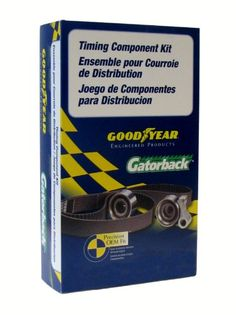 Goodyear GTK0331 Gatorback Timing Belt Component Kit Timing belt component kit includes: tensioner, timing belt. All necessary components for timing belt replacement. Installation instructions included.