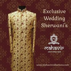 To buy visit our store in Chandni Chowk or inbox to book an appointment with our Fashion Consultant. Mens Sherwani, Wedding Sherwani, Mens Ethnic Wear, Wedding Wear, Your Style, Groom, Traditional, Mens Fashion, Weddings