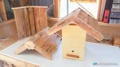 Cottage Roof – Native Bee Hives