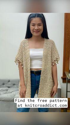 Crochet Pumpkin Pattern, Boho Crochet Patterns, Crochet Cardigan, Easy Crochet, Knit Crochet, Crochet Ornaments, Crochet Diagram, Cardigan Pattern, Beautiful Crochet