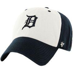 Detroit Tigers '47 Batting Practice Cleanup Adjustable Hat - White/Navy