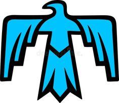 Thunderbird - Native American Symbol Stock Vector - Illustration of beasts, chief: 29725044 Native Symbols, Indian Symbols, Native American Symbols, Native Art, Native American Indians, Cherokee Symbols, Cherokee History, Wiccan Symbols, Mayan Symbols