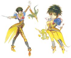 Asellus from Saga Frontier