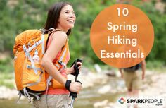 10 Things to Take On a Spring Hike   SparkPeople