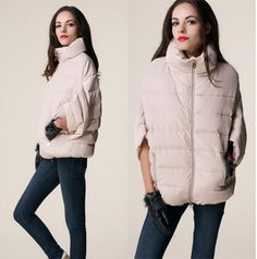 2015 sale full new ladies fashion down coat winter jacket outerwear Bat sleeve in thick women jackets parka overcoat LJ910-in Down & Parkas from Women's Clothing & Accessories on Aliexpress.com | Alibaba Group US $32