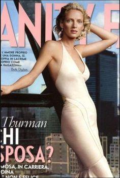 Uma Thurman photo by Annie Leibovitz