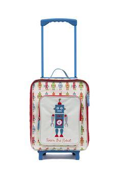 ee33db3425 Amazon.com  Pink Lining Wheelie Case - Robbie the Robot  Clothing Kids  Luggage