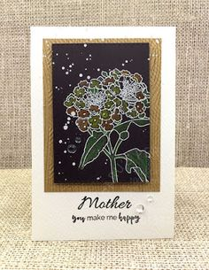 Paru's Card Making Challenges: May 2018 challenge Cool Cards, Make Me Happy, May, Card Making, Challenges, Flowers, How To Make, Florals, Flower