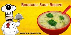 Voidcan.org share with you simple and easy recipe of Broccoli soup which you can try yourself and make your love ones happy.