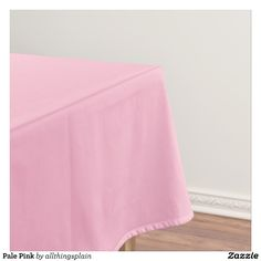 Pale Pink Tablecloth