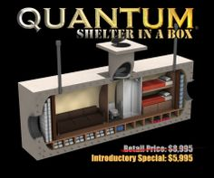 Vivos Quantum Shelter in a Box - Just $5,995