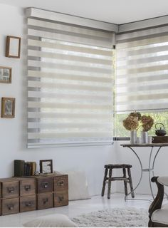 17 Photos of Motorized Shades Zebra Curtains, Zebra Blinds, Curtains Living, Living Room Windows, Modern Blinds, Modern Windows, Blinds For Windows, Curtains With Blinds, Window Blinds