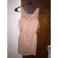 tan dress size small Dresses Mini