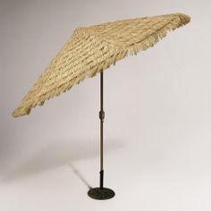 9-ft. Thatched Market Umbrella. WANT