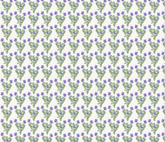 Viola riviniana 05 fabric by xantha on Spoonflower - custom fabric Pattern Making, Linen Bedding, Custom Fabric, Spoonflower, Craft Projects, How To Draw Hands, Fabrics, Colorful, Quilts