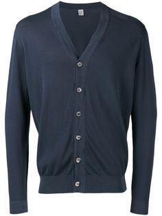 ELEVENTY V-neck cardigan. #eleventy #cloth #cardigan