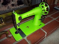 Neon Green Singer