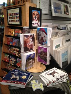 Wet Nose Greeting cards at the Baltimore Museum of Art gift shop.