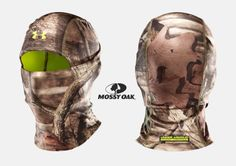 Under Armour ColdGear® Scent Control Hood in Mossy Oak Camouflage