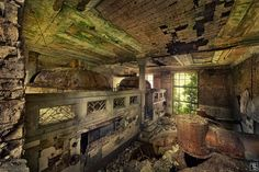 abandoned brewery
