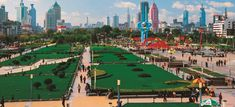 Quancheng-Square in Jinan, China