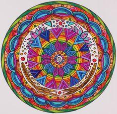 birch & bees: Twelve Mandalas virgo mandala @lexibrazelton can make the symbol larger