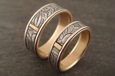 Down to the Wire for Unique Handmade Wedding Rings