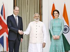 Slideshow : PM Modi hosts lunch for Prince William and Kate - Prince William and Kate Middleton have Royal fun in India - The Economic Times