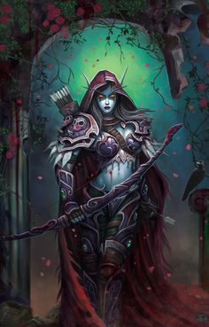 Sylvanas Windrunner (the Dark Lady, Queen of the Forsaken) is the former Ranger-General of...