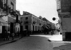 Antigua calle Ollerias  MÁLAGA