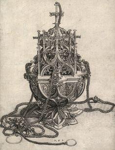 The Censer, Martin Schongauer, XV century.