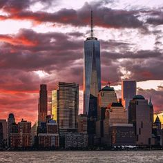 New York City Feelings - 1WTC at Sunset by @PSeibertphoto  #newyork...
