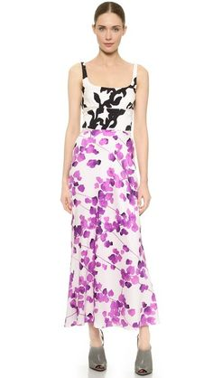 Narciso Rodriguez Watercolor Floral Dress 2395