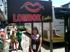 The capital of Lombok Island