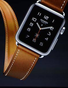 Apple's announcement of the Hermès Watch.